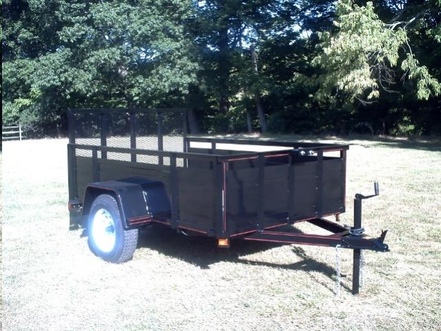Where to find TRAILER, 5 X8 , 3  SIDE, 2,990LB BRI-MAR in Reading