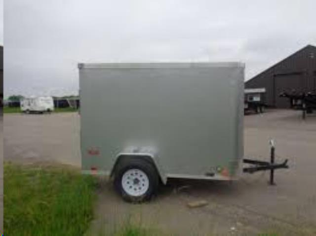 Where to find TRAILER, ENCLOSED, 5X8, RAMP, V NOSE in Reading