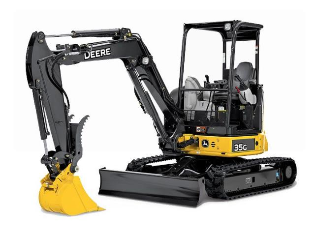 Where to find EXCAVATOR, MINI, DEERE 35G in Reading