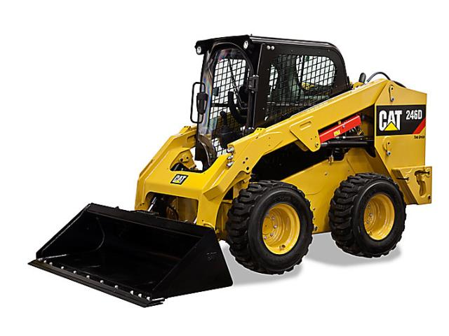 Where to find SKIDLOADER, CAT 246D, 2150LB. in Reading