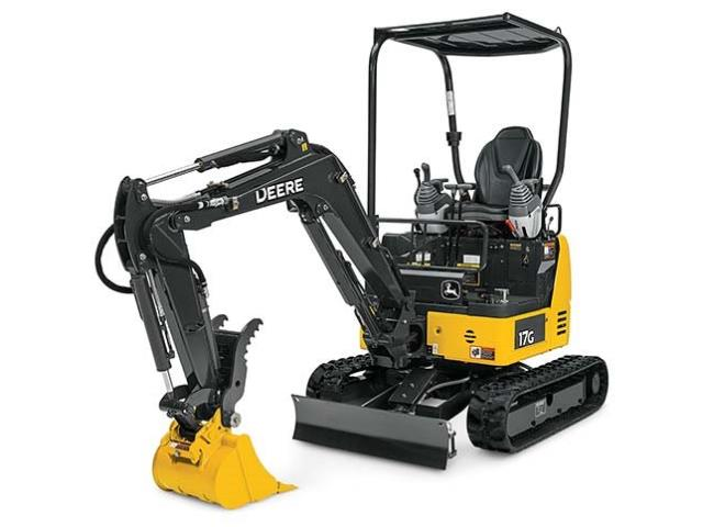 Where to find EXCAVATOR, MINI, DEERE 17G in Reading