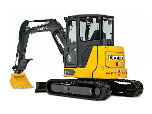 Where to find EXCAVATOR, MINI, DEERE 50G in Reading