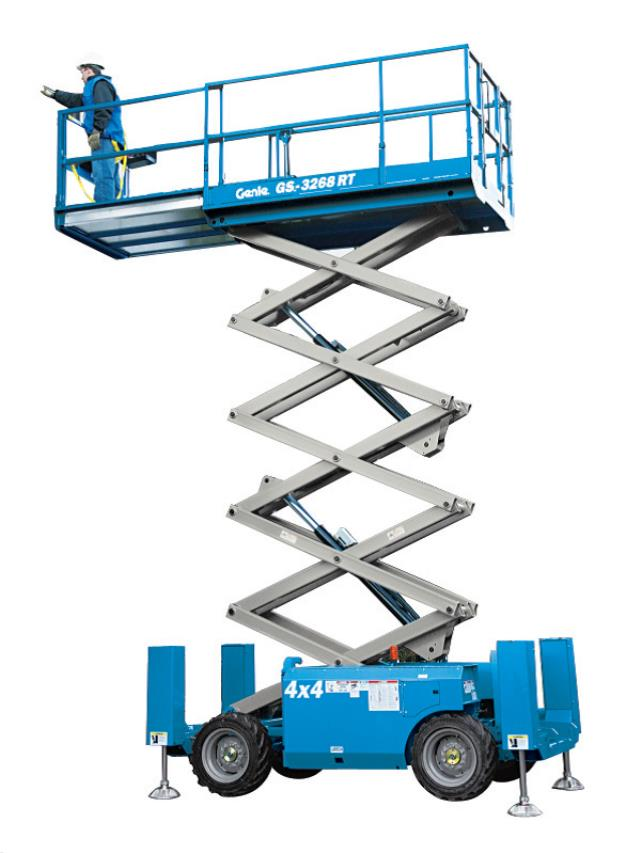 Where to find SCISSOR LIFT, ALL TERRAIN, GS3268, GENIE in Reading