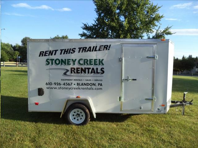 Where to find TRAILER, ENCLOSED, 6X12, RAMP, 1,560 LBS in Reading