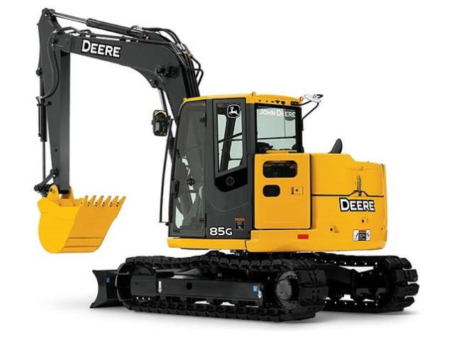 Where to find EXCAVATOR, DEERE 85G, RUBBER TRCK, BLADE in Reading
