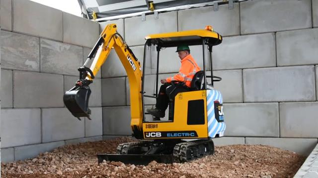 Where to find EXCAVATOR, ELECTRIC, JCB 19E, 4,100 LBS in Reading
