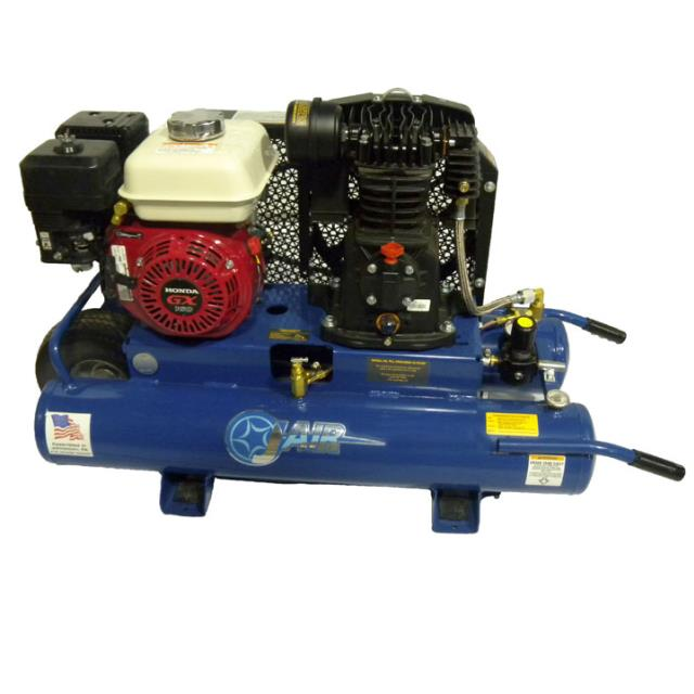 Where to find AIR COMPRESSOR, 8GAL, 5HP HONDA in Reading