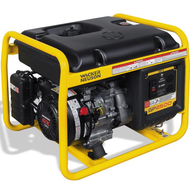 Where to find GENERATOR, GP2500A, 5.5 HP WACKER in Reading