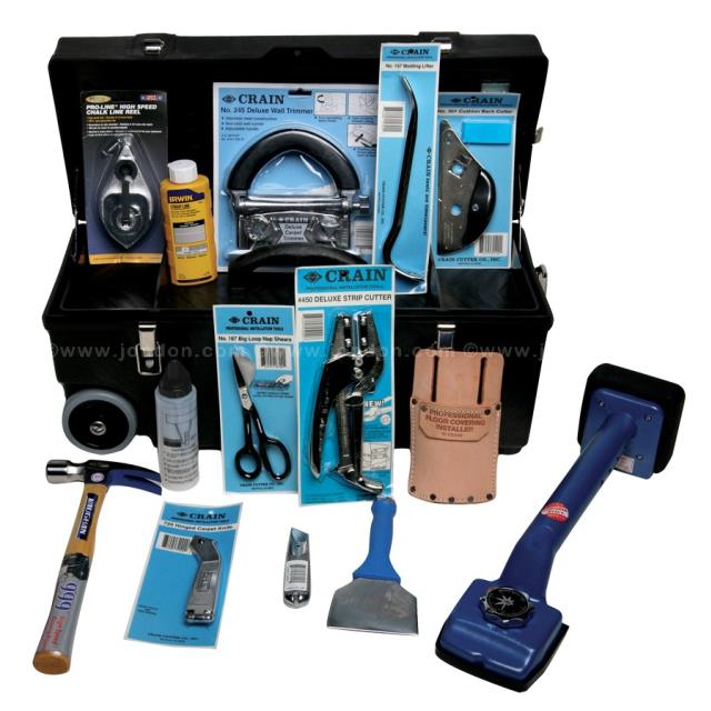Where to find CARPET INSTALL KIT-SEAMER, CUTTERS, ECT in Reading