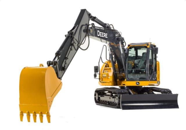 Where to find EXCAVATOR, DEERE 135G, BLADE, RUBBER TRK in Reading