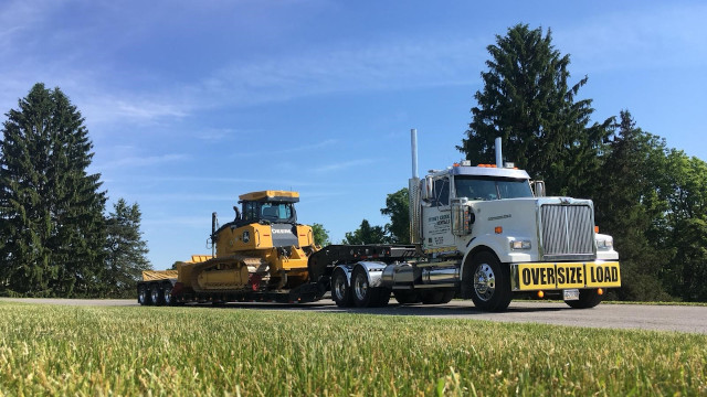Equipment Hauling Service in Southeastern Pennsylvania